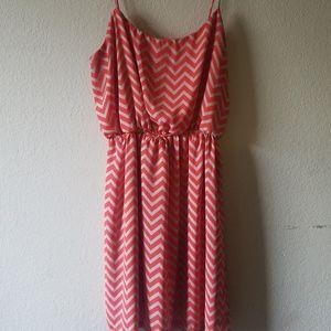 Francesca's Chevron Dress